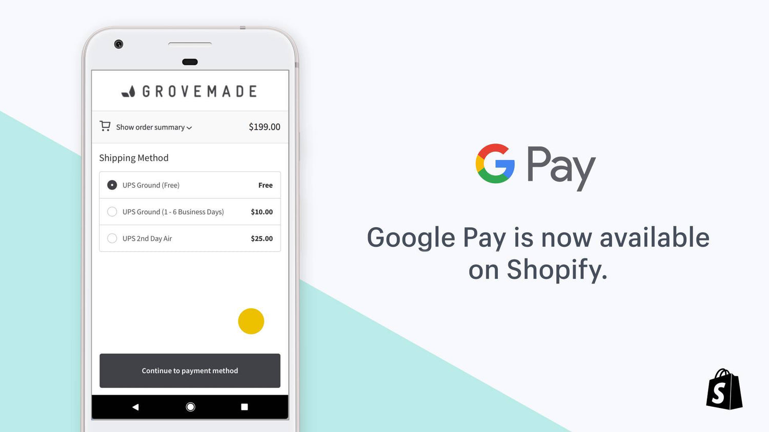 Google Pay for Shopify