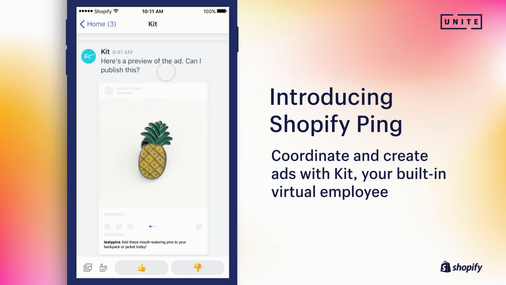 Connect With Your Customers: Introducing Shopify Ping