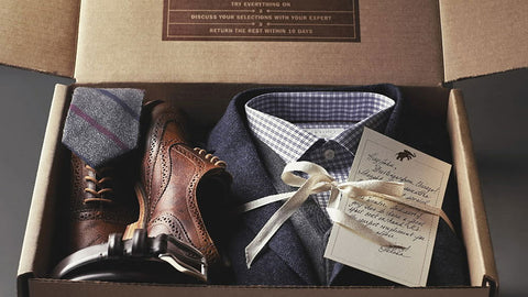 Trunk Club has incredible branded packaging