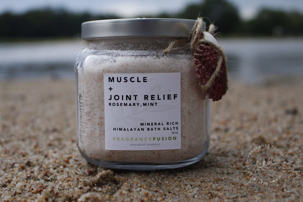 Himalayan bath salts - Muscle and Joint relief - Fragrance Fusion