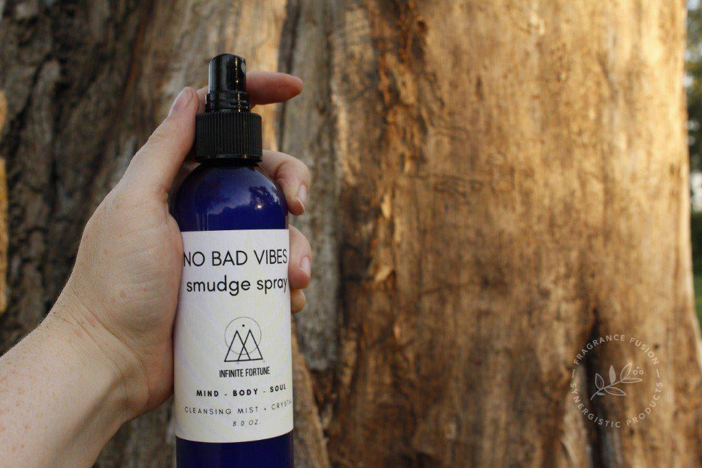 NO BAD VIBES smudge spray
