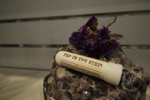 PEP IN THE STEP! aromatherapy inhaler