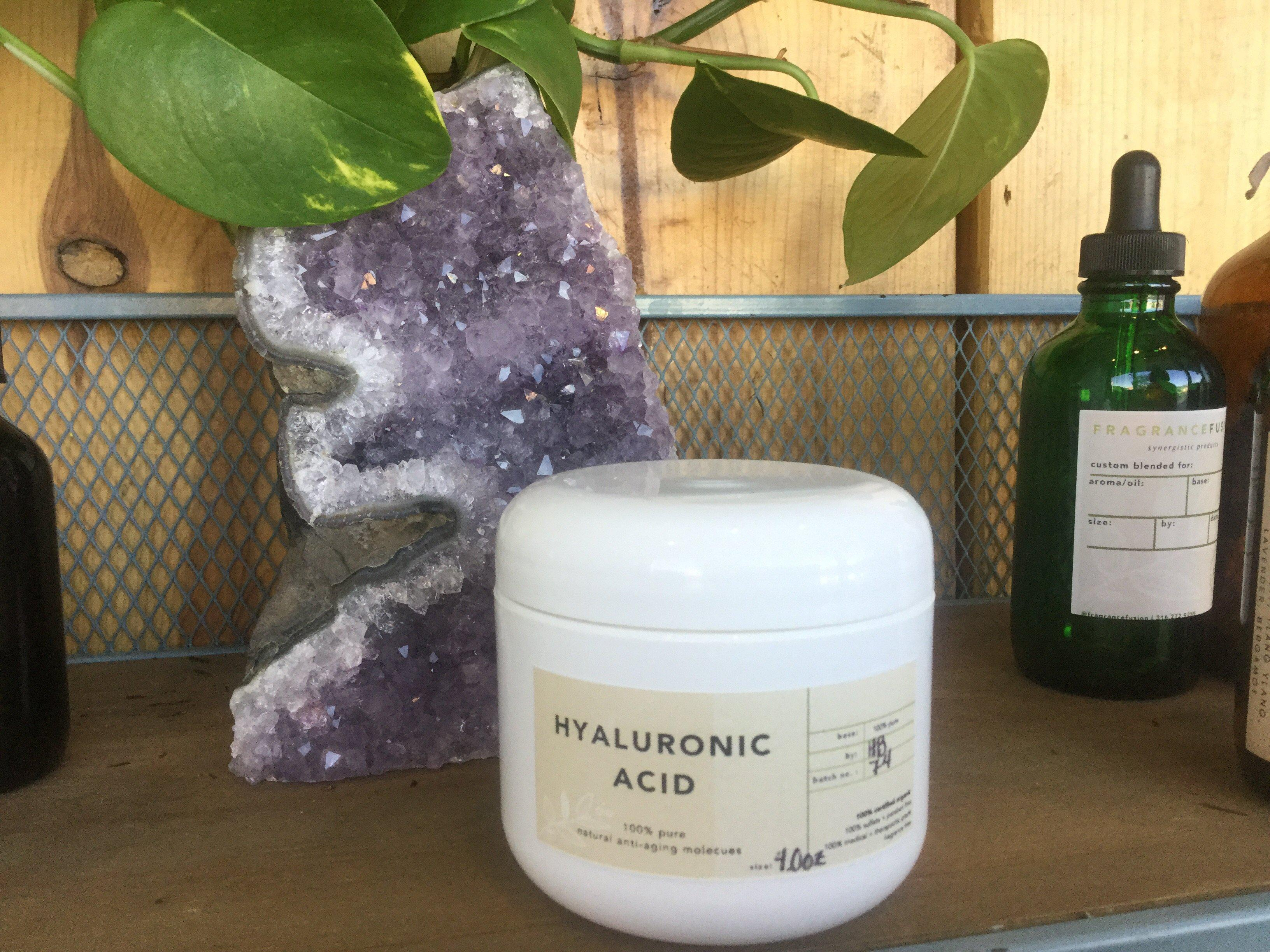 HYALURONIC ACID gel moisturizer