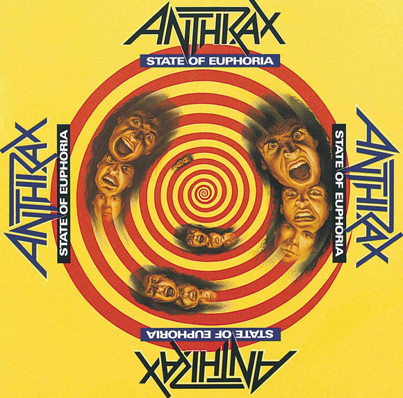 ANTHRAX = STATE OF EUPHORIA /2LP