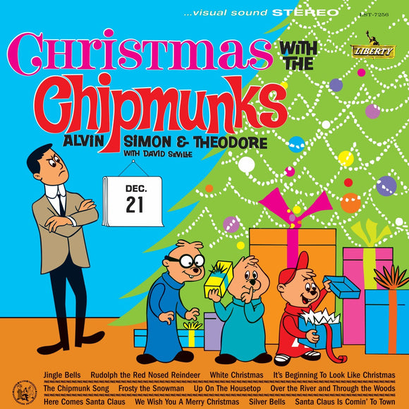 ALVIN & THE CHIPMUNKS = CHRISTMAS WITH THE CHIPMUNKS