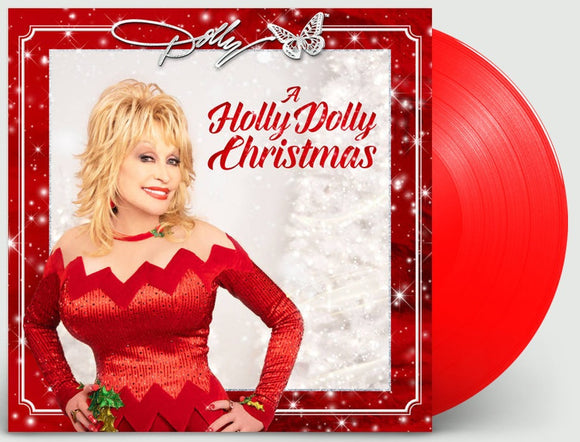 PARTON, DOLLY = HOLLY DOLLY CHRISTMAS /RED WAX