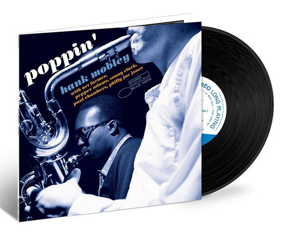 MOBLEY, HANK = POPPIN' (BLUE NOTE TONE POET)