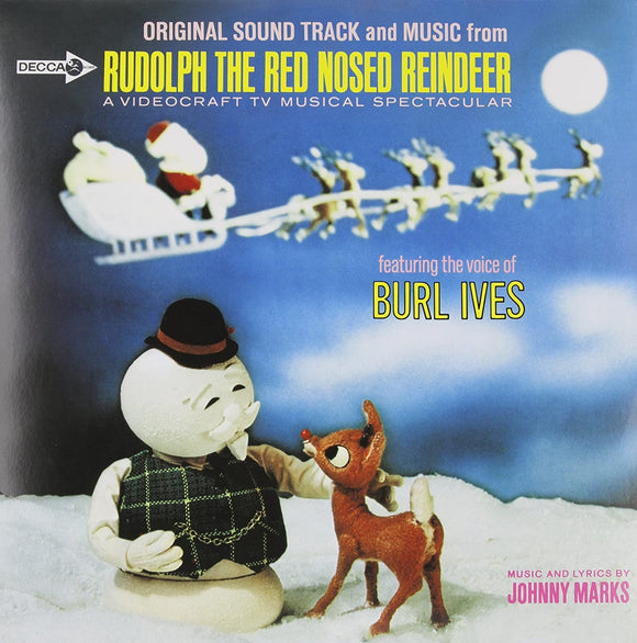IVES, BURL = RUDOLPH THE RED NOSE REINDEER (OST)