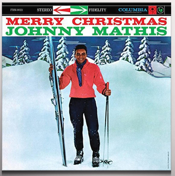 MATHIS, JOHNNY = MERRY CHRISTMAS