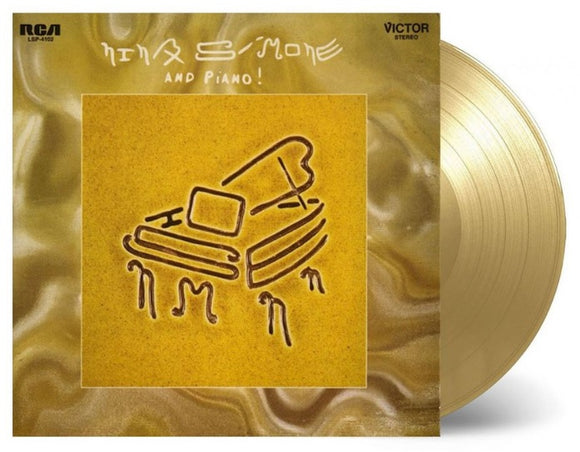 SIMONE, NINA = AND PIANO! /GOLD WAX (MOV)