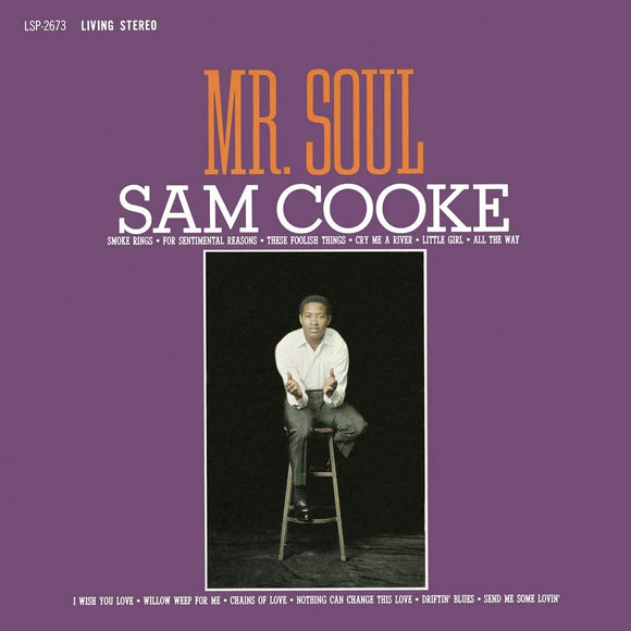 COOKE, SAM = MR. SOUL (PURPLE MARBLE) (MOV)