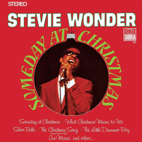 WONDER, STEVIE = SOMEDAY AT CHRISTMAS