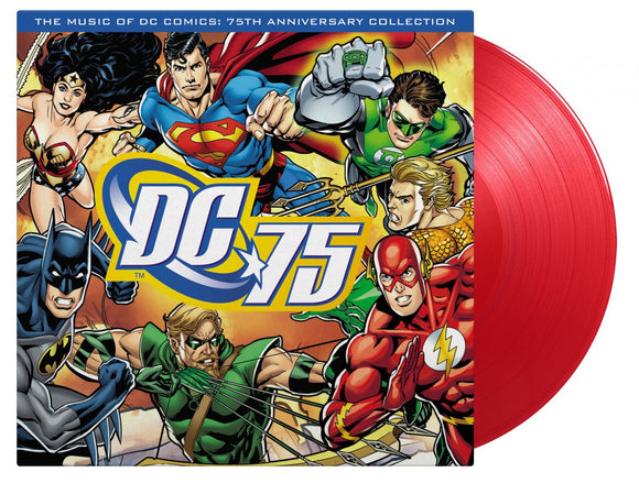 DC 75: MUSIC OF DC COMICS 75TH ANN. /RED WAX (MOV)