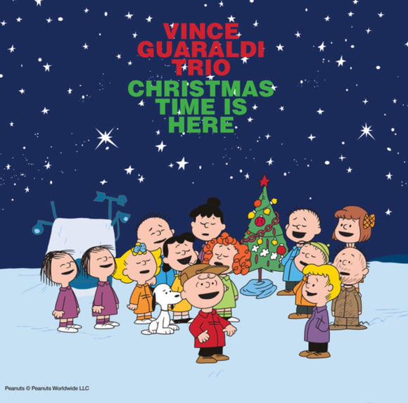 GUARALDI, VINCE TRIO = CHRISTMAS TIME IS HERE /7IN. (RSDBF)