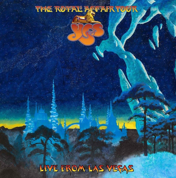 YES = ROYAL AFFAIR TOUR: LIVE FROM LAS VEGAS /2LP