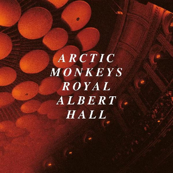 ARCTIC MONKEYS = LIVE AT THE ROYAL ALBERT HALL /2LP