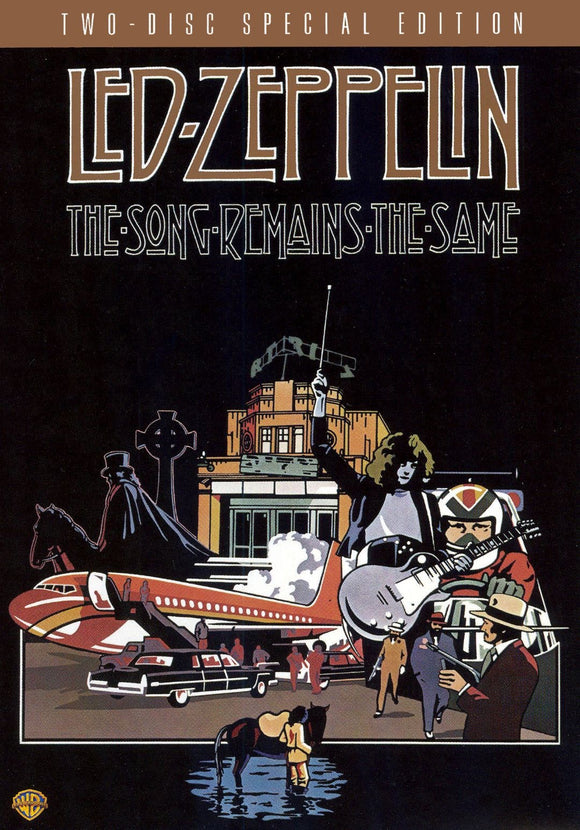 LED ZEPPELIN = SONG REMAINS THE SAME (DVD)