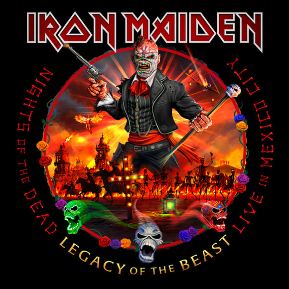 IRON MAIDEN = NIGHTS OF THE DEAD: LIVE IN MEXICO CITY