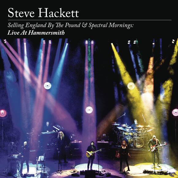 HACKETT, STEVE = SELLING ENGLAND / SPECTRAL MORNINGS: LIVE AT HAMMERSMITH /4LP+2CD