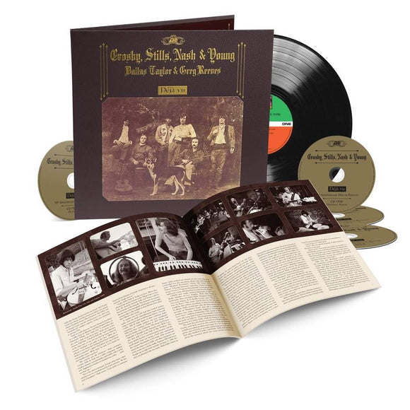 (PRE-ORDER) CROSBY, STILLS, NASH & YOUNG = DEJA VU: 50TH ANN. EDITION (1LP/4CD)