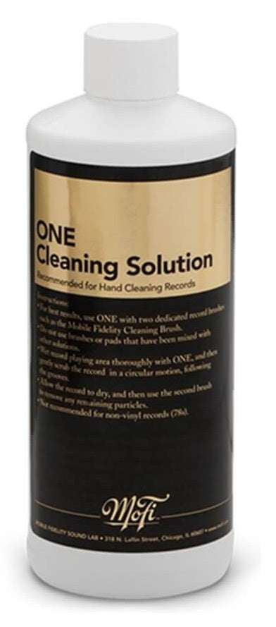 ONE CLEANING SOLUTION (16oz.) // MOBILE FIDELITY