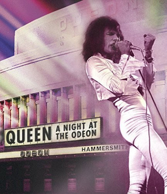 QUEEN = A NIGHT AT THE ODEON (DVD)