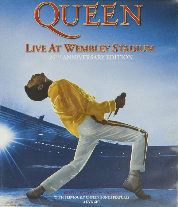QUEEN = LIVE AT WEMBLEY: 25TH ANNIVERSARY /2DVD