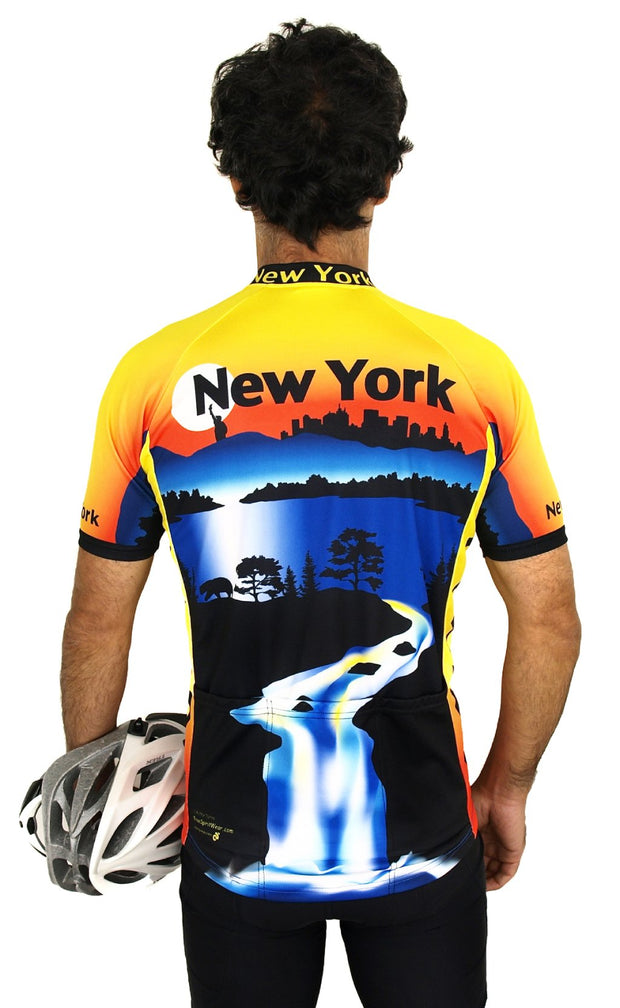 New York Bike Jersey - Closeout - Free Spirit Wear Bike Jerseys