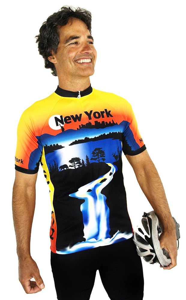 New York Bike Jersey - Closeout - Free Spirit Bike Jerseys