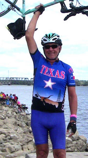 Texas Cycling Jersey - Free Spirit Bike Jerseys