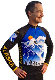 Alaska Majestic 3 Long Sleeve Bike Jersey - Free Spirit Bike Jerseys