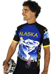 Alaska Majestic Cycling Jersey - Free Spirit Wear Bike Jerseys
