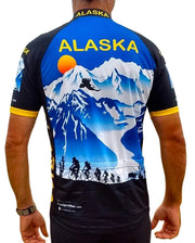 Alaska Majestic 3 Cycling Jersey - Free Spirit Bike Jerseys