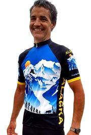 Alaska Majestic 3 Cycling Jersey - Free Spirit Wear Bike Jerseys