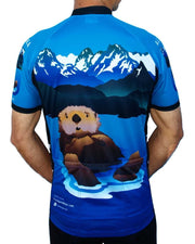 Alaska Otter Cycling Jersey - Free Spirit Wear Bike Jerseys