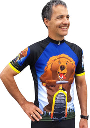 Bear on Bike Jersey - Wordless - Free Spirit Bike Jerseys