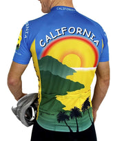 California Cycling Jersey - Free Spirit Wear Bike Jerseys