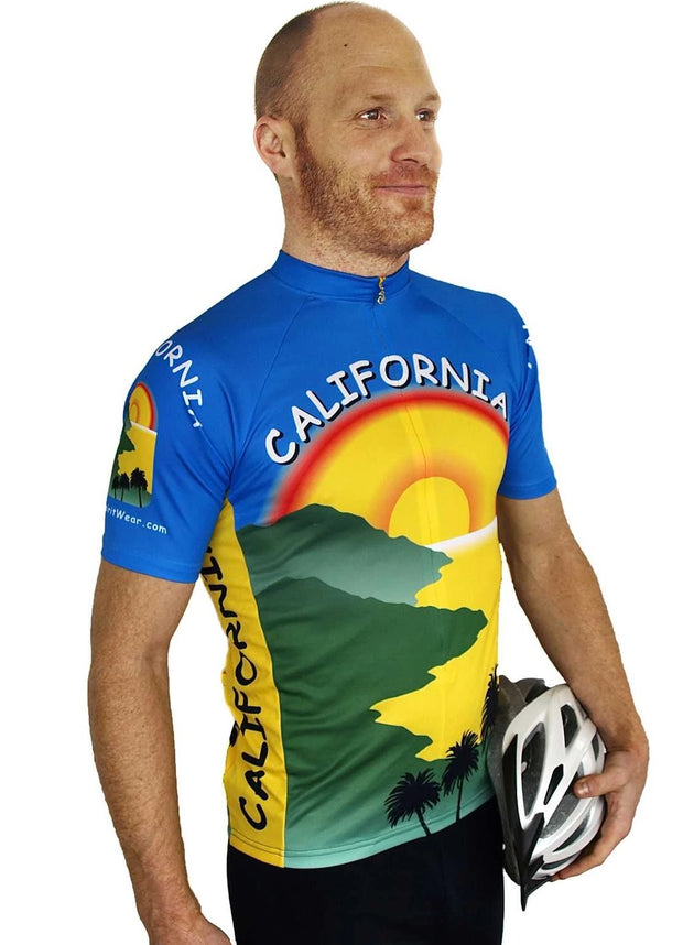 California Cycling Jersey - Free Spirit Bike Jerseys