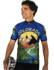 Colorado Cycling Jersey - Free Spirit Wear Bike Jerseys