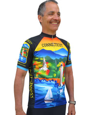Connecticut Cycling Jersey - Free Spirit Bike Jerseys