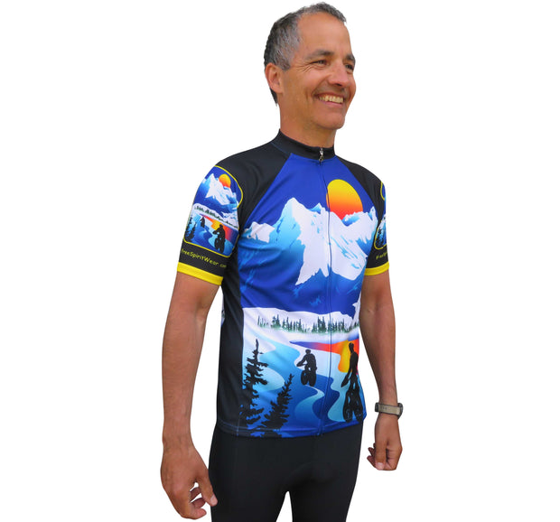 FatBike Cycling Jersey - Wordless - Free Spirit Bike Jerseys