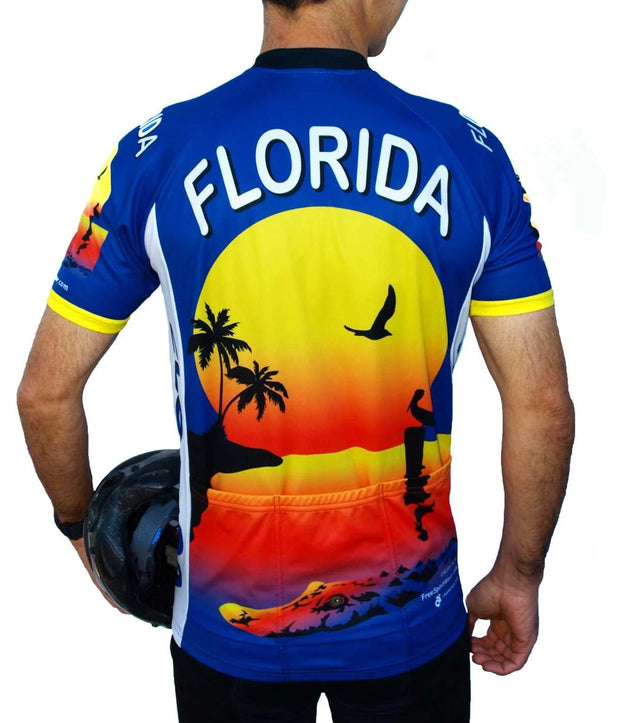 Florida Cycling Jersey - Free Spirit Wear Bike Jerseys