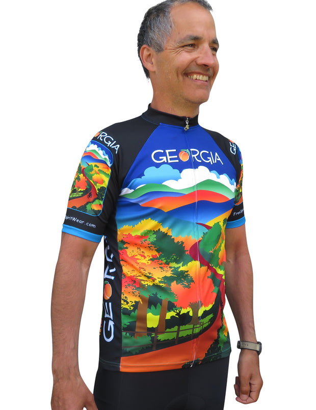 Georgia Cycling Jersey - Free Spirit Bike Jerseys