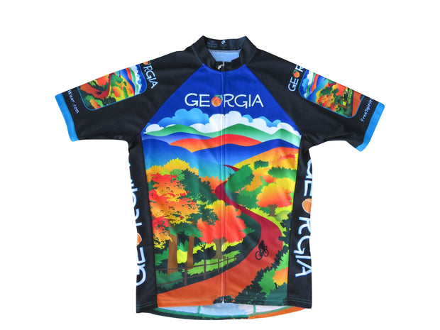 Georgia Cycling Jersey - Free Spirit Wear Bike Jerseys