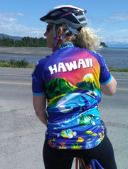 Hawaii Cycling Jersey - Free Spirit Bike Jerseys
