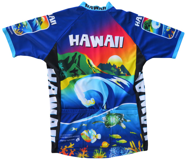 Hawaii Cycling Jersey - Free Spirit Wear Bike Jerseys