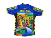 Indiana Cycling Jersey - Free Spirit Bike Jerseys