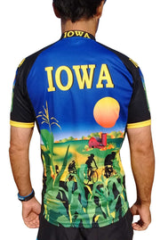 Iowa Cycling Jersey - Free Spirit Bike Jerseys