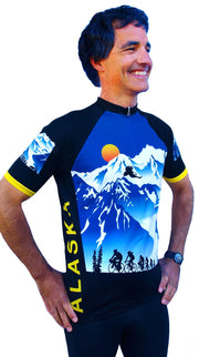 Alaska Majestic (redux) Jersey - Closeout - Free Spirit Wear Bike Jerseys