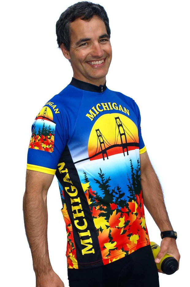 Michigan Cycling Jersey - Free Spirit Bike Jerseys